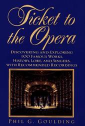 Ticket to the Opera 1455558