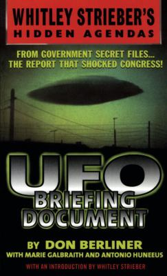 UFO Briefing Document: The Best Available Evidence 9780440236382