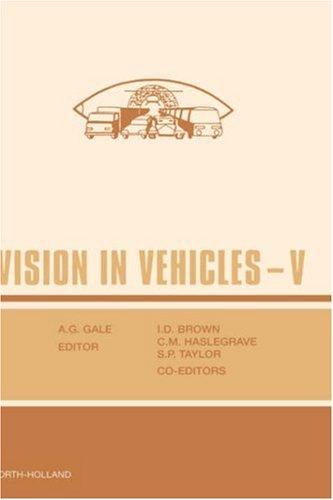 Vision in Vehicles V 9780444814777