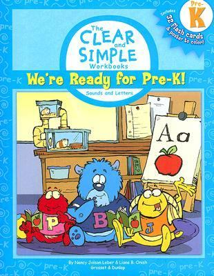 We're Ready for Pre-K!: Sounds and Letters [With Poster and 32 Flash Cards] 9780448443058