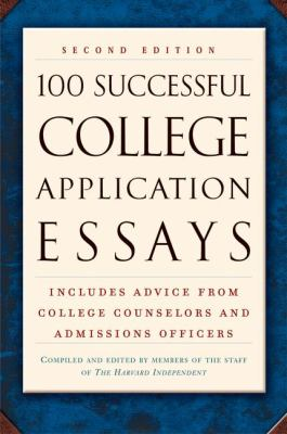 100 Successful College Application Essays 9780451207135