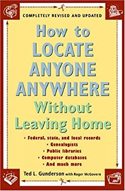 How to Locate Anyone Anywhere: Without Leaving Home 9780452277427