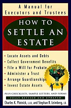 How to Settle an Estate: A Manual for Executors and Trustees 9780452279346