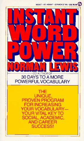 Instant Word Power 9780451166470