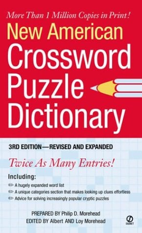 New American Crossword Puzzle Dictionary 9780451212559