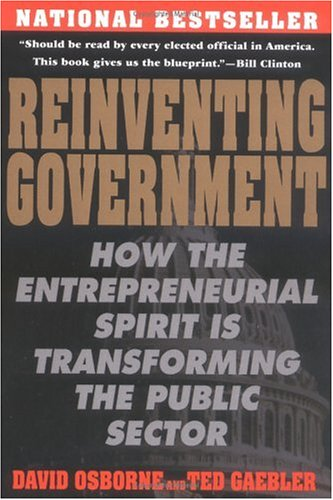 Reinventing Government: The Five Strategies for Reinventing Government 9780452269422