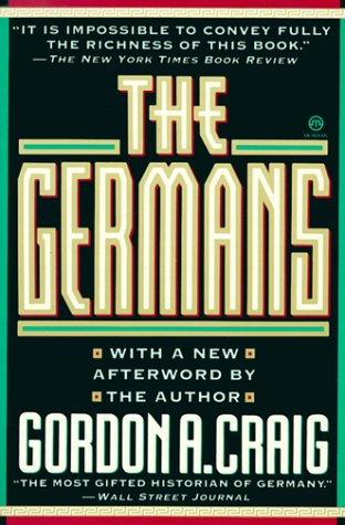 The Germans 9780452010857
