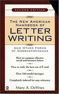 The New American Handbook of Letter Writing: Second Edition 9780451199317