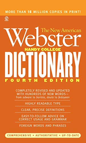 The New American Webster Handy College Dictionary 9780451219053