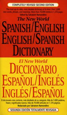 The New World Spanish/English, English/Spanish Dictionary 9780451181688