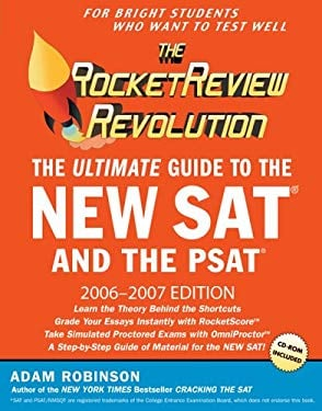 The Rocket Review Revolution: The Ultimate Guide to the New SAT and the PSAT [With CDROM] 9780451219466