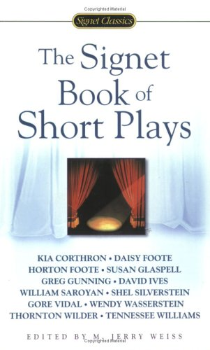 The Signet Book of Short Plays 9780451529640