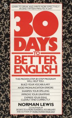 thirty days to better english by norman lewis pdf download