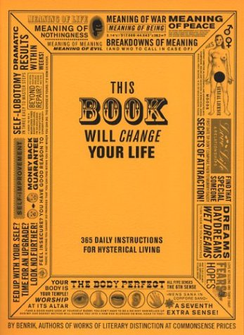 This Book Will Change Your Life 9780452284890