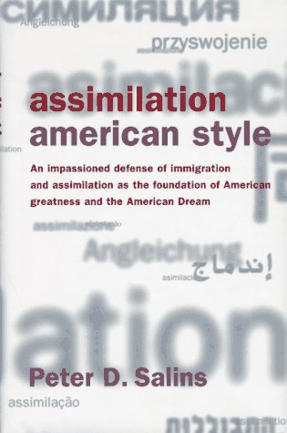 Assimilation, American Style 9780465098170