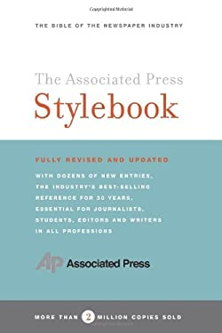 Associated Press Stylebook and Briefing on Media Law 9780465004898