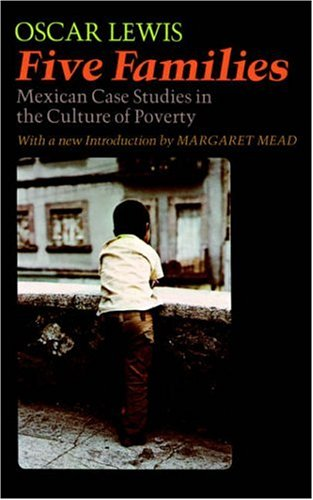 culture of poverty oscar lewis