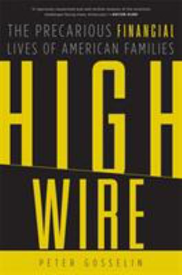 High Wire: The Precarious Financial Lives of American Families 9780465013791