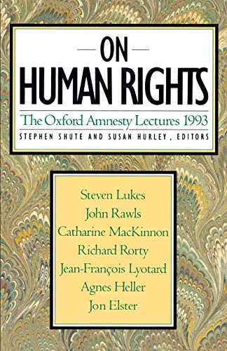 On Human Rights: 1993 9780465052240