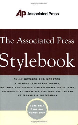The Associated Press Stylebook and Briefing on Media Law 9780465004881