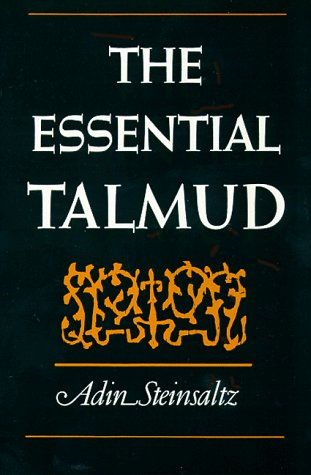 The Essential Talmud 9780465020638