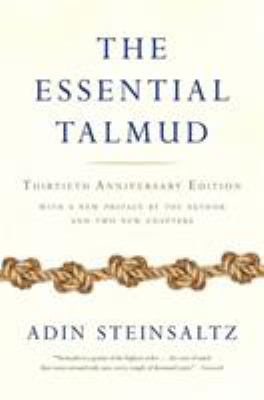 The Essential Talmud 9780465082735