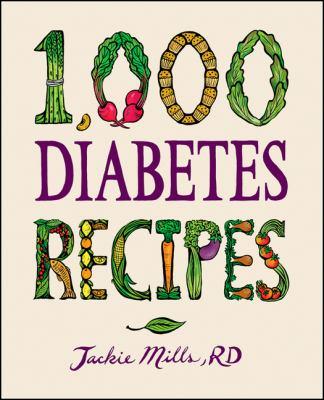 1,000 Diabetes Recipes 9780470407448