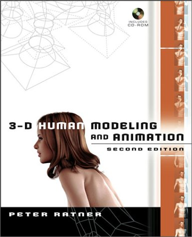 3-D Human Modeling and Animation [With CDROM] 9780471215486