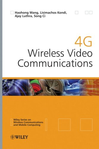 4g Wireless Video Communications 9780470773079