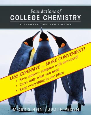 Foundations of College Chemistry, Binder Ready Version 9780470008119