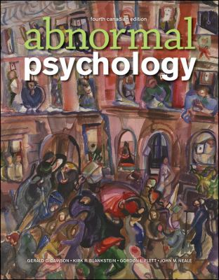 Abnormal Psychology 9780470161036