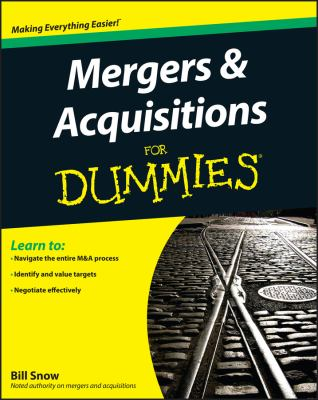 Mergers & Acquisitions for Dummies 9780470385562