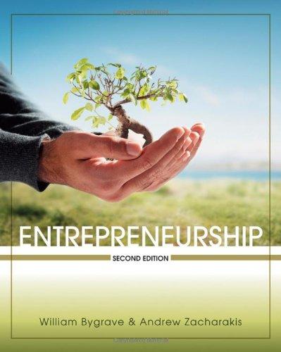 Entrepreneurship 9780470450376