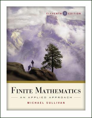 Finite Mathematics: An Applied Approach 9780470458273