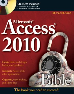 Access 2010 Bible [With CDROM] 9780470475348