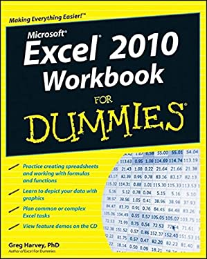 Excel 2010 Workbook for Dummies [With CDROM] 9780470489604