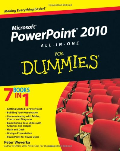 PowerPoint 2010 All-In-One for Dummies 9780470500996