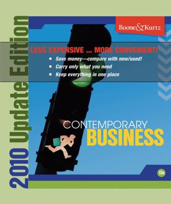 Contemporary Business 13th Edition 2011 Update Binder Ready Version 9780470503430