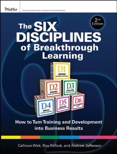 The Six Disciplines of Breakthrough Learning: How to Turn Training and Development Into Business Results 9780470526521
