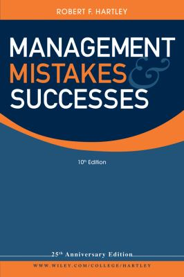 Management Mistakes and Successes 9780470530528