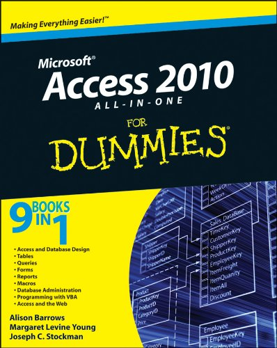 Access 2010 All-In-One for Dummies 9780470532188