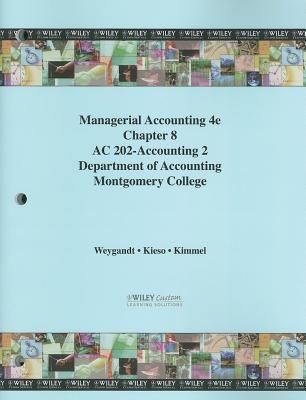 Managerial Accounting: Tools for Business Decision Making 9780470545782