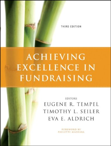 Achieving Excellence in Fundraising - 3rd Edition