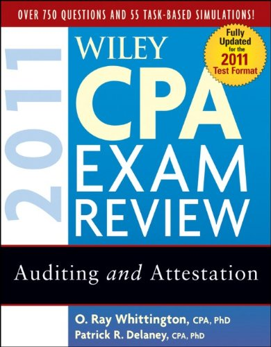 Wiley CPA Exam Review: Auditing and Attestation 9780470554340