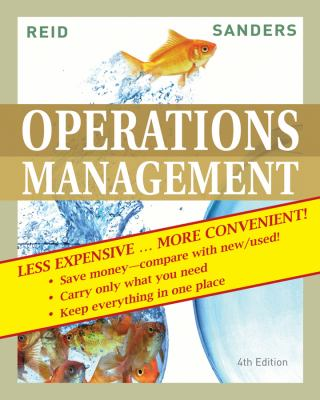 Operations Management, Binder Ready Version 9780470556702