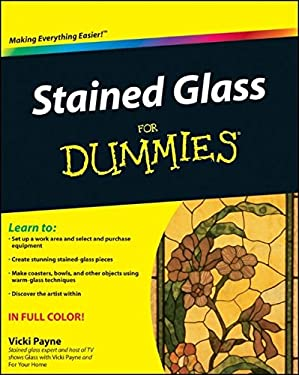 Stained Glass for Dummies 9780470591321