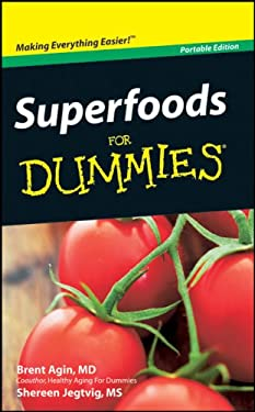 Superfoods for Dummies 9780470591925