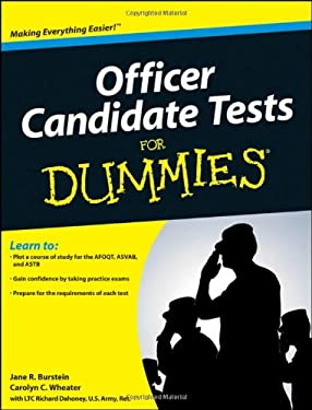 Officer Candidate Tests for Dummies 9780470598764