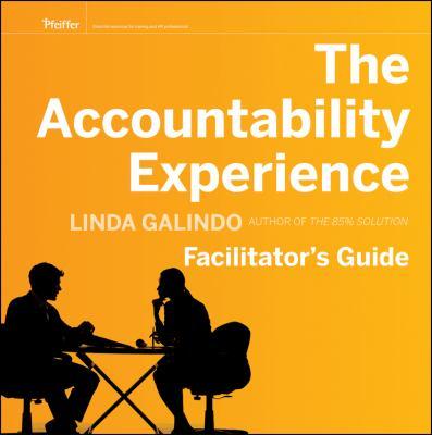 The Accountability Experience 9780470607107