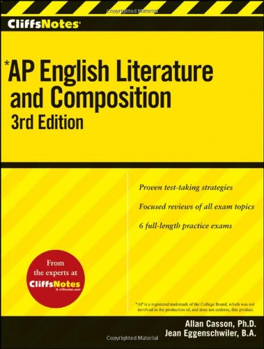 CliffsNotes AP English Literature and Composition 9780470607572